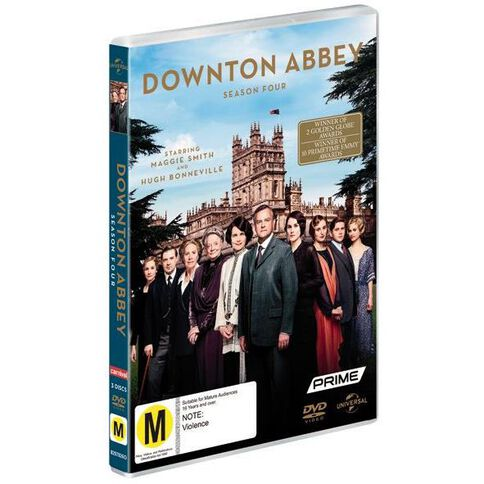 Downton Abbey Series 4 DVD 3Disc