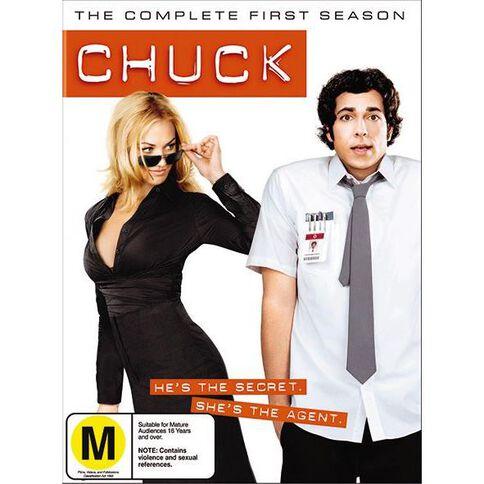 Chuck Season 1 DVD 4Disc