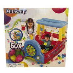Bestway Inflatable Train with 50 Balls