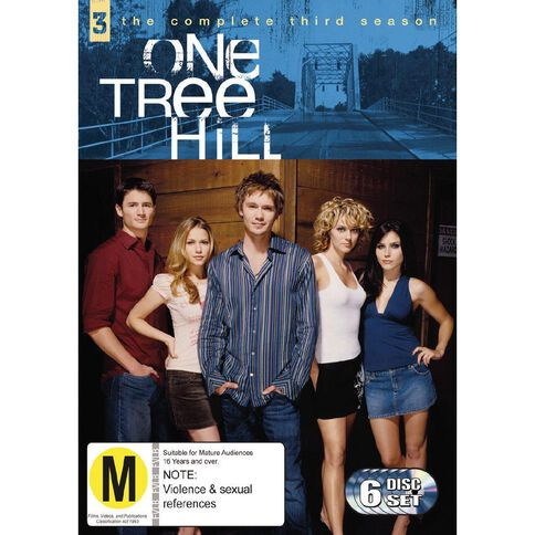 One Tree Hill Season 3 DVD 6Disc