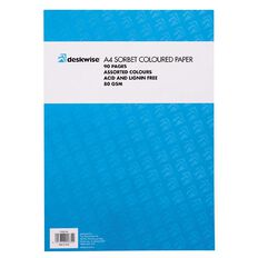 Deskwise Paper Pad Sorbet A4 90 Page