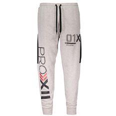 Active Intent Men's Knit Contrast Side Print Pants