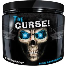 Cobra Labs The Curse Pre-workout Blue Raspberry Ice 250g