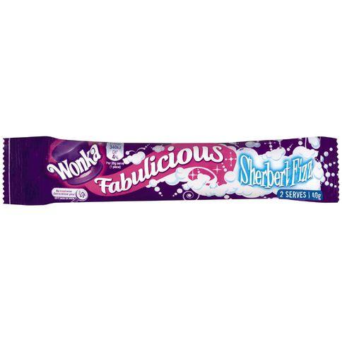 Wonka Fabulicious Sherbet Fizz