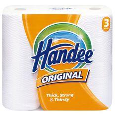 Handee Paper Towel Original White 3 Pack