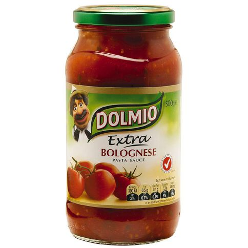 Dolmio Dolmio Extra Bolognese Pasta Sauce 500g