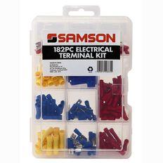 Samson Electrical Terminal Kit 182 Piece