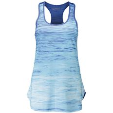Active Intent Women's All Over Print Eyelet Back Singlet