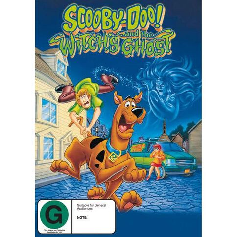 Scooby Doo Witches Ghost DVD 1Disc