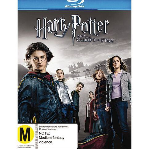 Harry Potter and The Goblet of Fire Blu-ray 1Disc