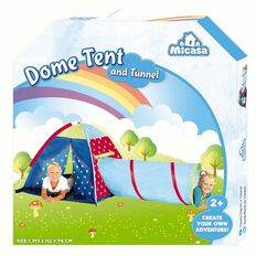 Dome Tent & Tunnel Combo Set