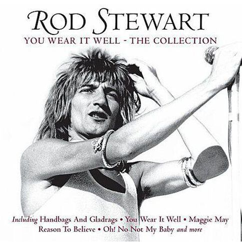 Wear It Well Collection CD by Rod Stewart 1Disc