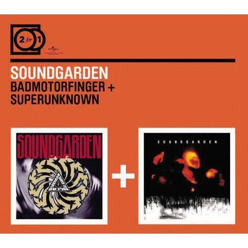 2for1 Badmotorfinger/Superunknown CD by Soundgarden 2Disc