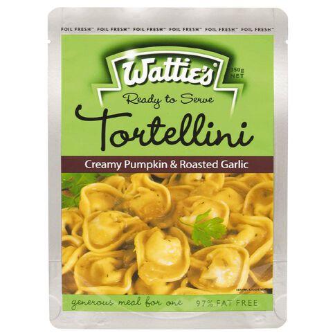 Wattie's Tortellini Meal Creamy Pumpkin and Roasted Garlic 350g