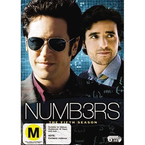 Numbers Season 5 DVD 6Disc