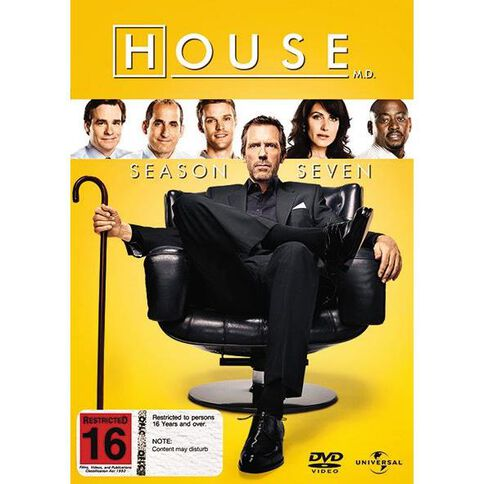 House MD Season 7 DVD 1Disc