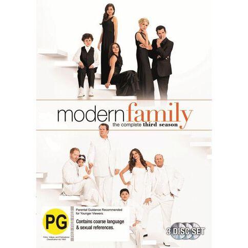 Modern Family Season 3 DVD 3Disc