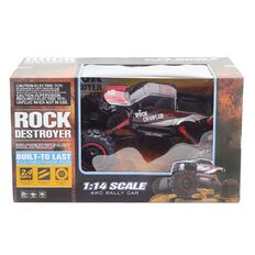Rock Crawler  Remote Control Car 1:14 4 Chanel Red/Blue Assorted