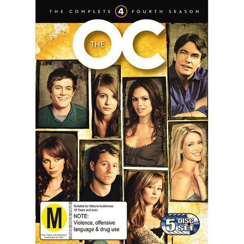 The O.C. Season 4 DVD 5Disc