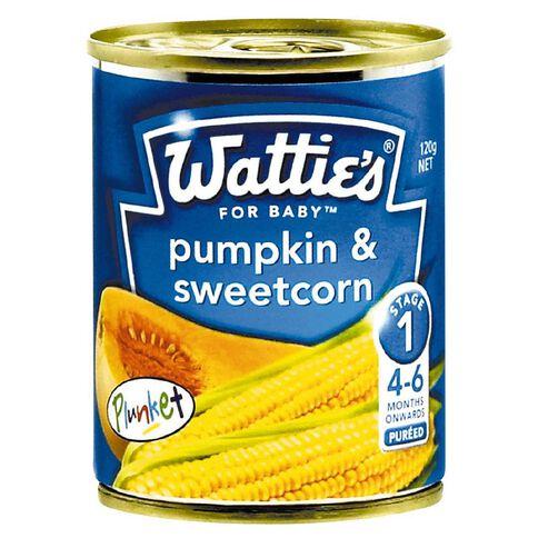 Wattie's Pumpkin and Sweetcorn Can 120g
