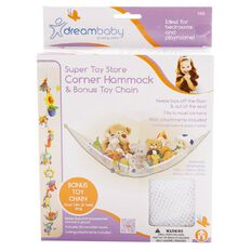 Dreambaby Super Toy Store Corner Hammock & Toy Chain