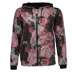 Active Intent Women's Laser Cut Bomber Jacket