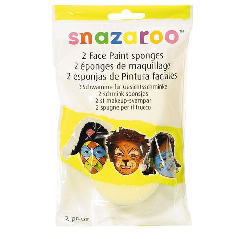 Snazaroo Snazaroo Face Painting Sponges 2 Pack
