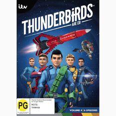 Thunderbirds Are Go Volume 4 DVD 1Disc