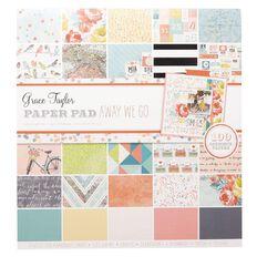 Grace Taylor Away We Go Paper Pad 100 Sheet