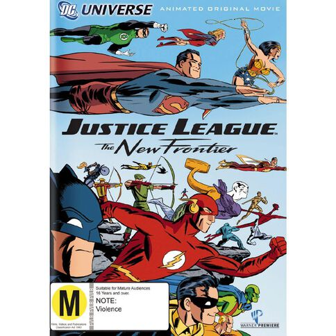 Justice League The New Frontier DVD 1Disc