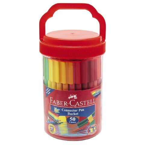 Faber-Castell Connector Bucket of 50