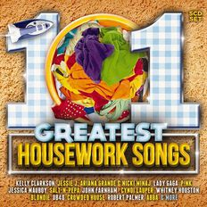 101 Great Housework Songs CD by Various Artists 5Disc