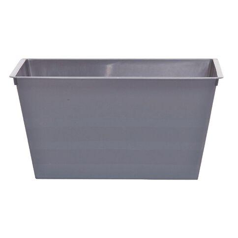 Taurus Flexi Tub Rectangular Charcoal 4.5L