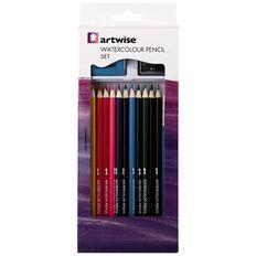 Artwise Pencils  Watercolour Set 15 Piece