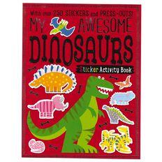 My Dino Sticker Activity Books