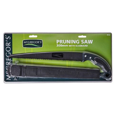 McGregor's Push Pull Pruning Saw with Scabbard
