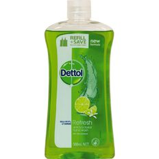 Dettol Liquid Soap Handwash Refill Lemon & Lime 500ml