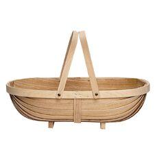 Harvest Basket Wooden