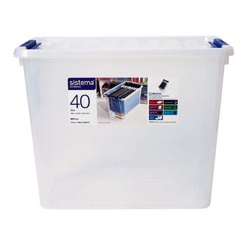 Sistema Storage Organiser 40L