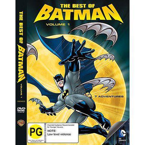 The Best Of Batman Volumes 1 DVD