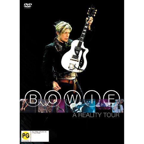 David Bowie a Reality Tour DVD 1Disc