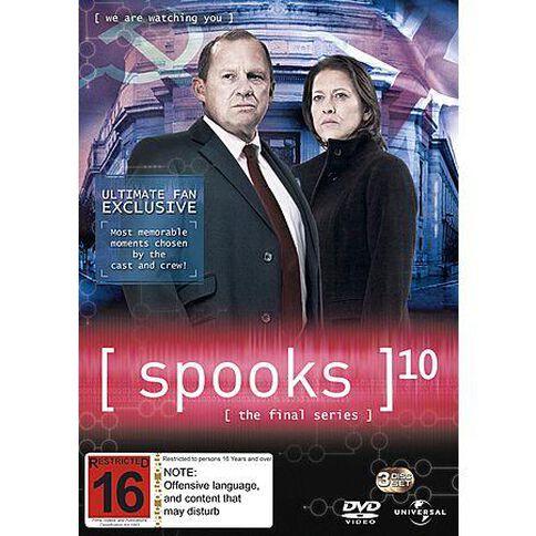 Spooks Season 10 DVD 3Disc
