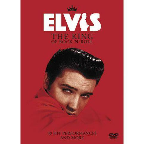 Elvis Presley The King of Rock N Roll DVD