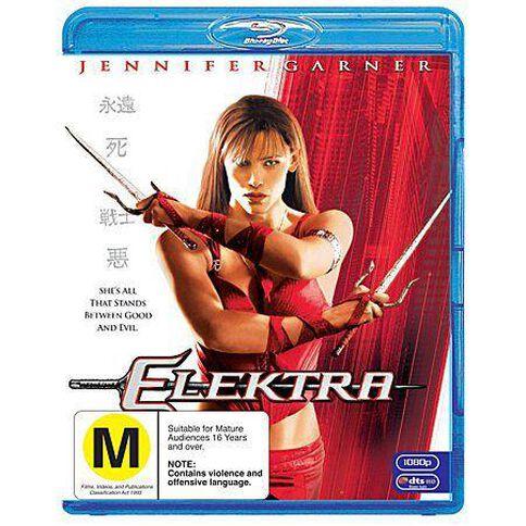 Elektra Blu-ray 1Disc