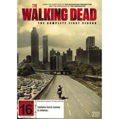 Walking Dead Season 1 DVD 2Disc