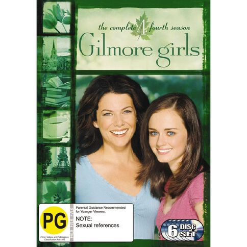 Gilmore Girls Season 4 DVD 6Disc