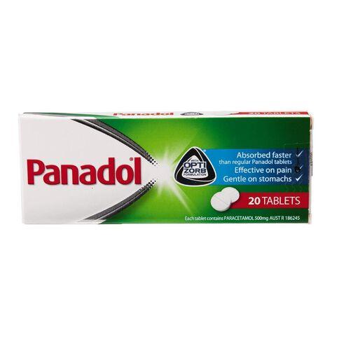 Panadol Optizorb Tablets 20s - LIMIT OF 1 PER CUSTOMER
