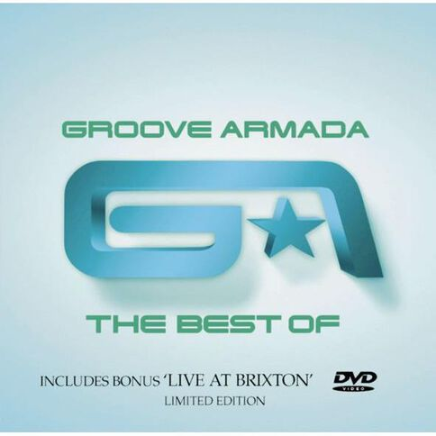 The Best of CD/DVD by Groove Armada 2Disc
