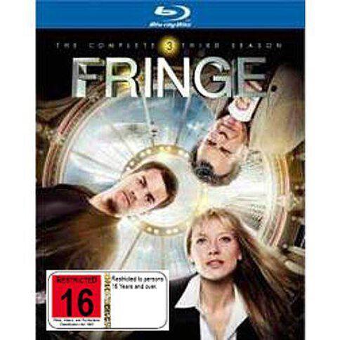 Fringe Season 3 Blu-ray 4Disc