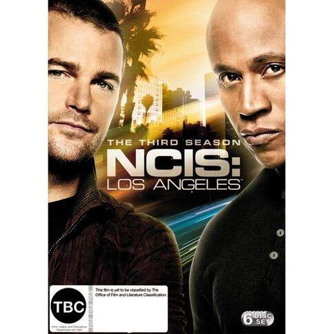 NCIS LA Season 3 DVD 8Disc